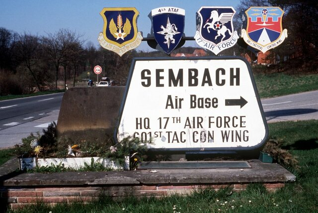 Moved to Sembach Germany