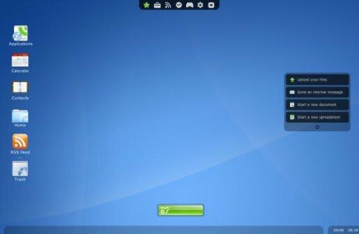 Empiezan a aparecer los sistemas operativos en la Nube (Internet), como es el caso de EyeOS.