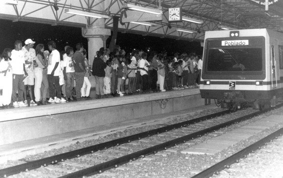 When I was five years old, The metro of Medellin was built