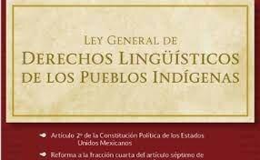 Ley General de Derechos Lingüísticos