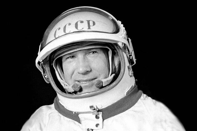 First Human to Walk in Space