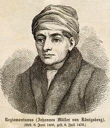 JOHAN MULLER REGIOMONTANO
