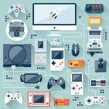 Llegada de los Videojuegos