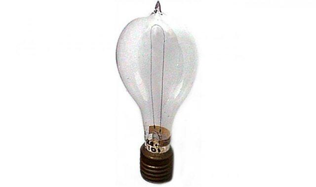 Edison invented light bulb