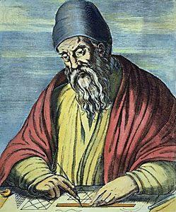 Matemático Griego Euclides