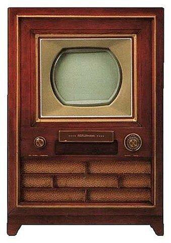Primer aparato de recepción televisiva comercializado