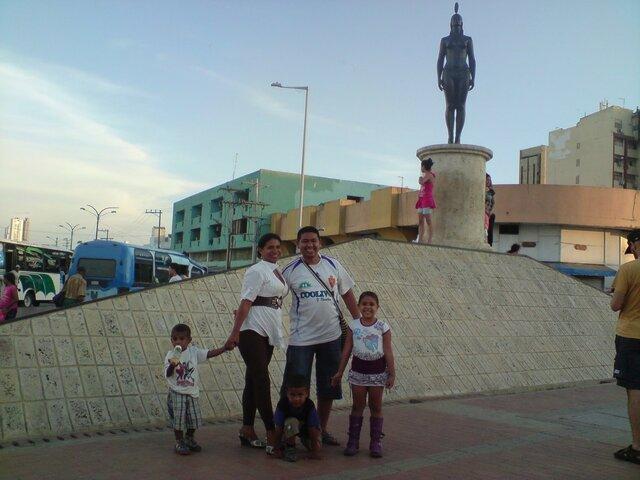 I TRAVELED TO CARTAGENA DE INDIAS WITH MY FAMILY