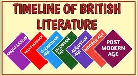 British Literature timeline