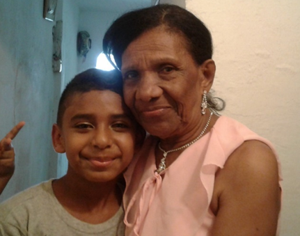 I VISITED TO MY GRANDMOTHER IN CARTAGENA