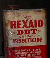 DDT (diclorodifeniltricloroetano)