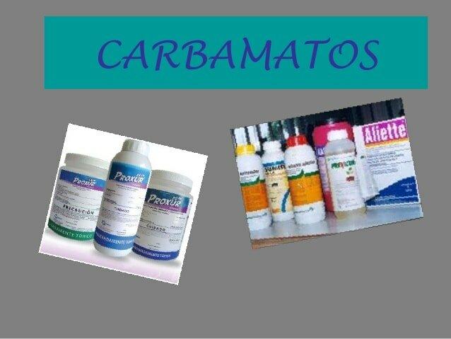 Insecticidas Carbonatos
