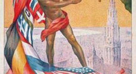 Start of the 1920 olympics