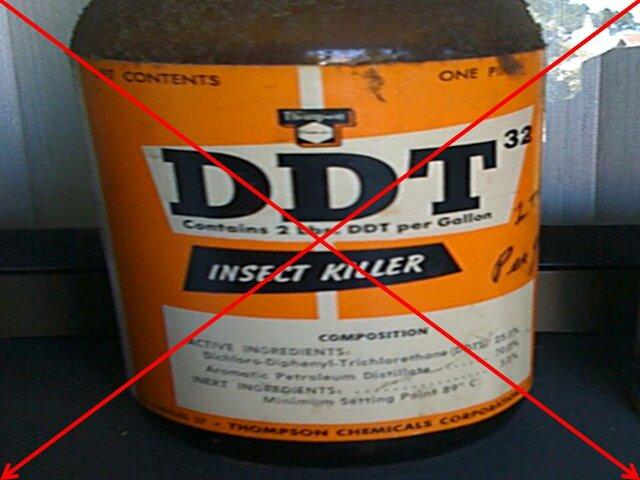 DDT fue llamado el elíxir de la muerte