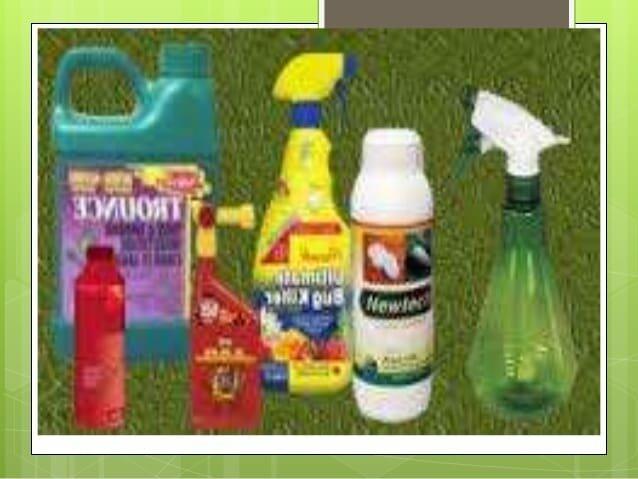 Pesticidas de riesgos reducidos