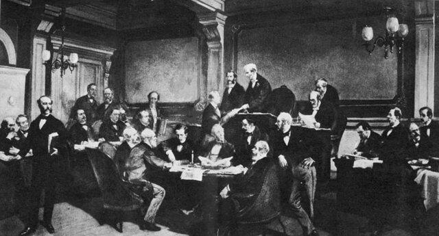 La primera convención de Ginebra.