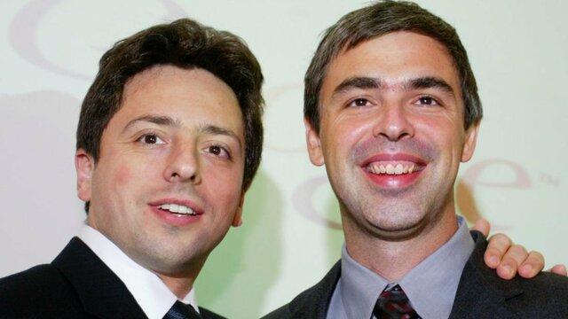 Larry Page y Sergey Brin se conocen