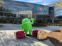 Nueva y actual oficina de Google en Mountain View, en California