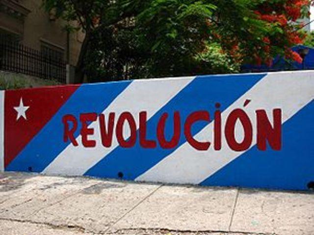 Triunfo de la Revolución Cubana de Fidel Castro