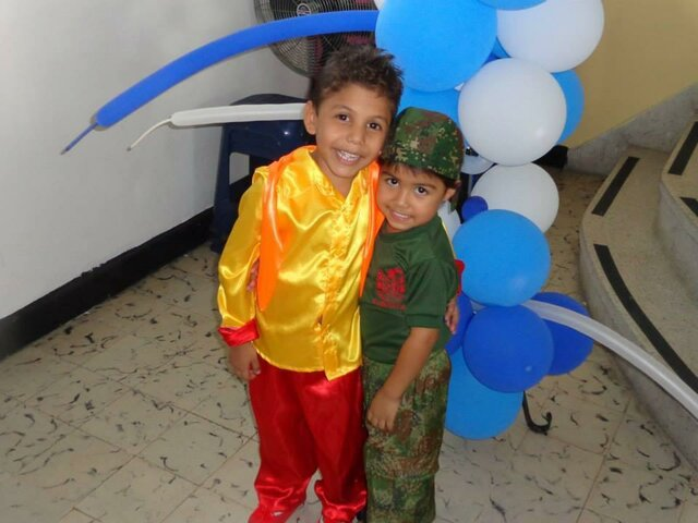 MY FIRST CARNAVAL IN THE SCHOOL