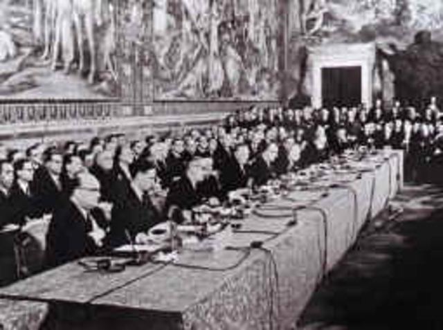Tratado de roma y constitución de la CEE