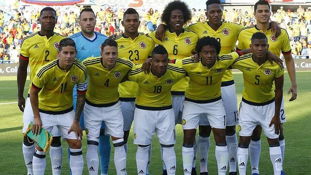 When I was 28 years old. The Colombian soccer team was in the World Cup.