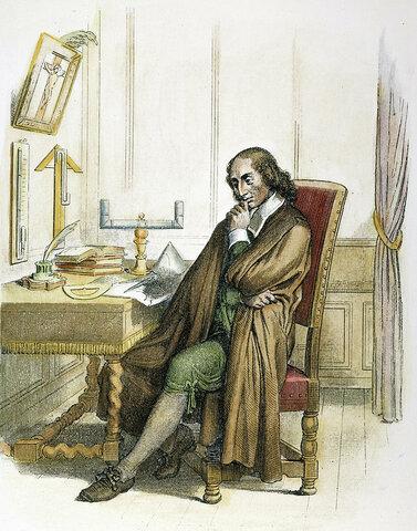 BLAISE PASCAL 1665