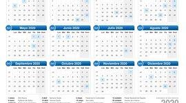 Fechas del Año timeline