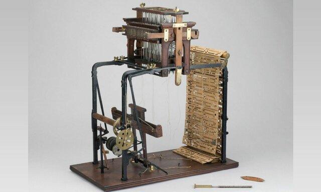 Maquina de telar de jacquard