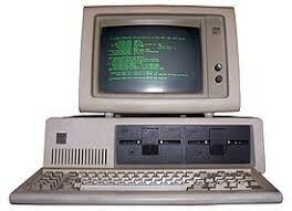 Diseño del primer PC de IBM