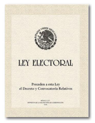 Promulgación de la Ley Federal Electoral en 1946