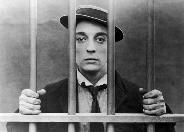 Buster Keaton, Comic Disaster Artist, Steers his Own Ship