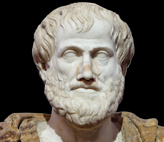 Nacimiento de Aristóteles