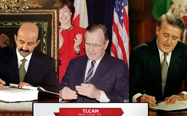 El Tratado de Libre Comercio de América del Norte (Firma)