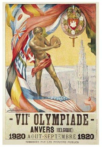 Juegos olímpicos en Amberes