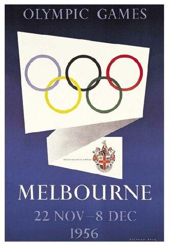 Juegos olímpicos de MELBOURNE