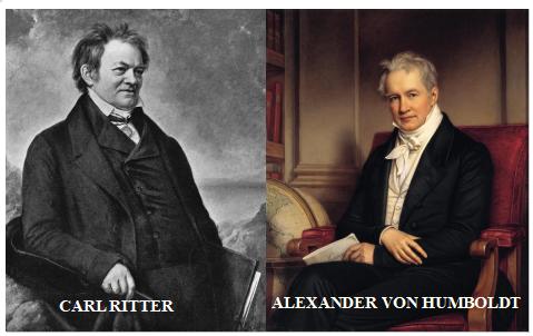 Fallecimiento de Humboldt y Ritter