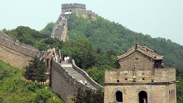 the great wall of china is built