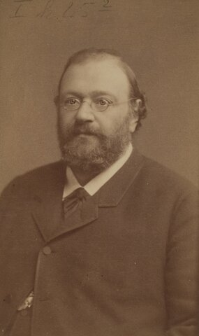 el fisiólogo Wilhelm Kühne (1837–1900)