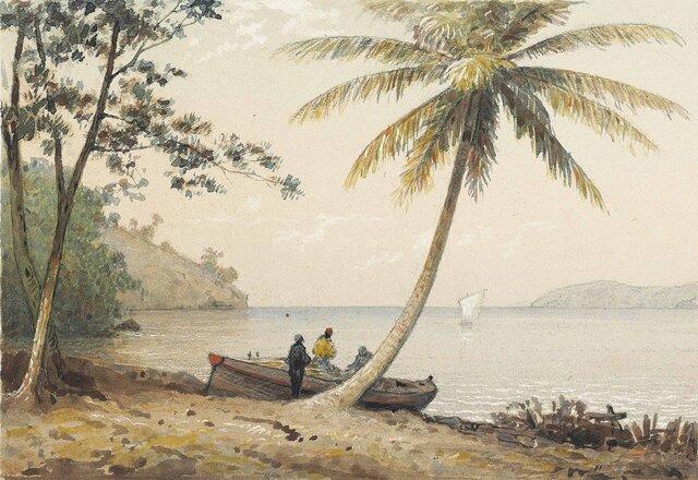 Trinidad y Tobago, In the 1st Boca-Michel Jean Cazabon