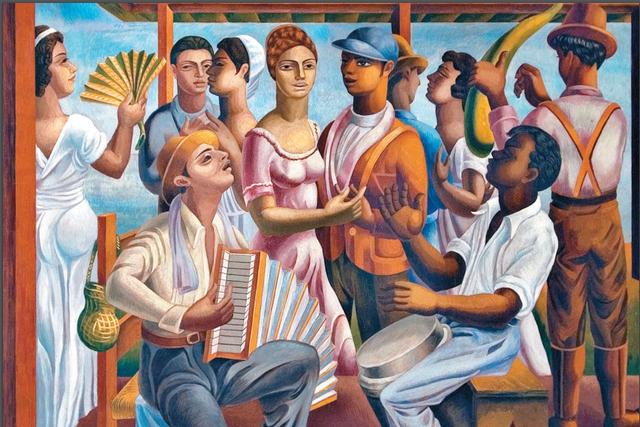 Pintura dominicana moderna