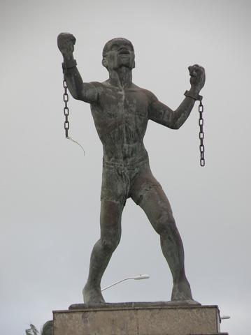Barbados, La Emancipación de Bussa - Karl Broodhagen