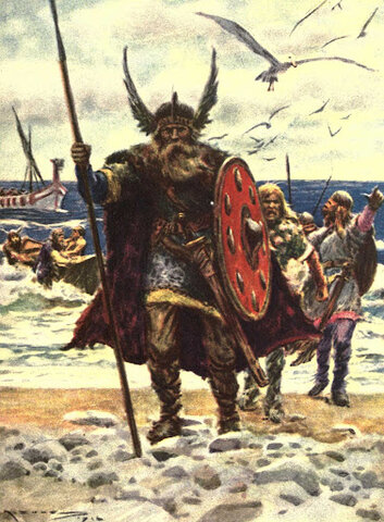 first appearence of vikings