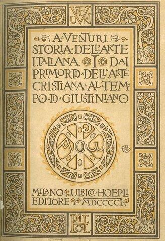1901-1940 Storia dell'Arte Italiana