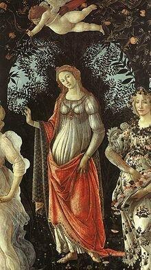 1893 La nascita di Venere e la Primavera di Botticelli