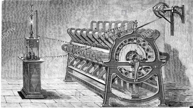 Máquina electromagnética