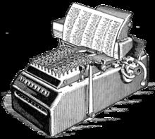 La calculadora electro-mecánica