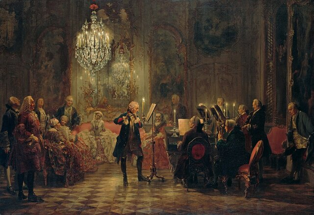 First Public Concerts in England