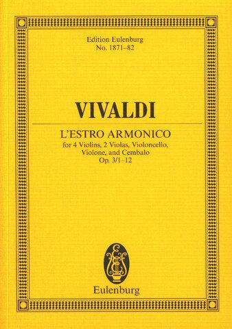 Antonio Vivaldi's L'Estro Armonico