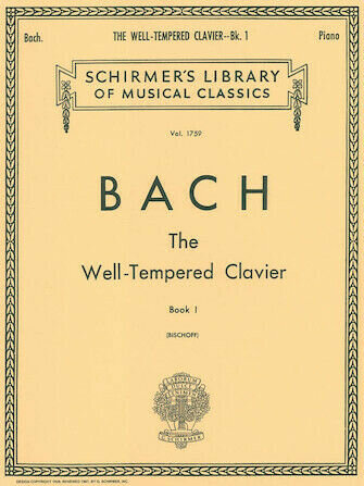 Bach's The Well-Tempered Clavier volume 1