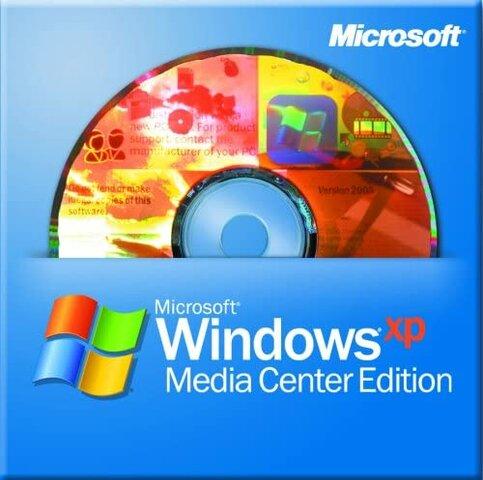 Windows XP Media Center Edition.